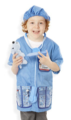 Veterinarian Costume Set - 3 to 6 Years|Costume de vétérinaire - 3 à 6 ans