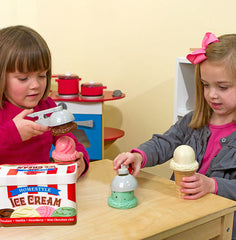 Scoop & Stack Ice Cream Cone Playset|Ensemble de crème glacée