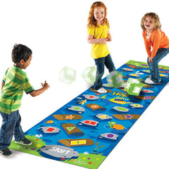 Crocodile Hop Floor Game|Tapis de jeu crocodile