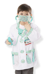 Doctor Costume Set - 3 to 6 Years|Costume de docteur - 3 à 6 ans