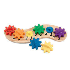 Rainbow caterpillar gear toy|Engrenages chenille arc-en-ciel