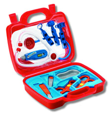 Doctor's kit medical playset|Ensemble de jeu de médecin