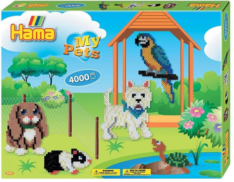 My Pets Hama Beads Kit|Ensemble de perles Hama - Les animaux