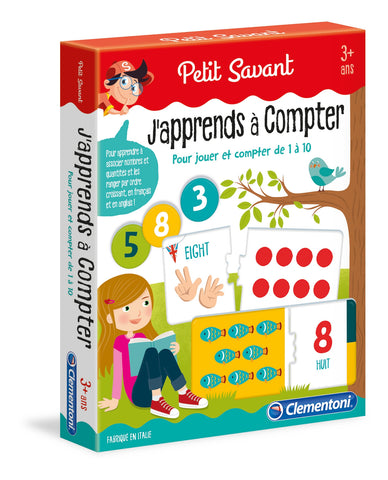 J'apprends à compter Clementoni(french version)|J'apprends à compter Clementoni
