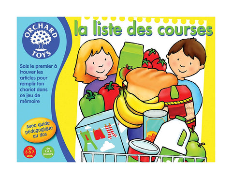 La liste des courses (french version)|La liste des courses