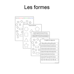 Digital download - Shapes|Fichier téléchargeable - Les formes
