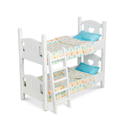 Mine to Love Play Bunk Bed|Lit superposé en bois pour poupée