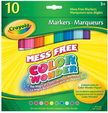 Color Wonder Markers|Marqueurs Color Wonder