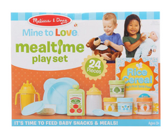 Mine to Love Mealtime Play Set|Ensemble de jeu de repas pour poupée