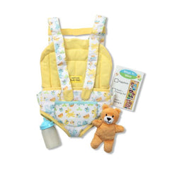 PREORDER Mine to Love Carrier Play Set|PRÉCOMMANDE Porte-bébé pour poupée