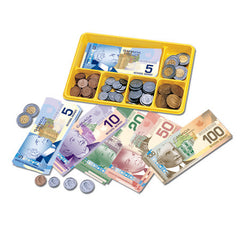 Canadian currency x-change activity set|Ensemble de plateau et monnaie canadienne