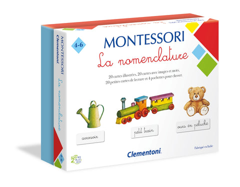 Montessori - La nomenclature (french version)|Montessori - La nomenclature