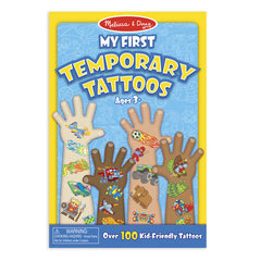 My First Temporary Tattoos - Adventure, Creatures, Sports, and More|Mes premiers tatouages temporaires - Aventure, créatures, sports et bien plus