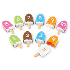 Smart Snacks Number Pops|Sucettes glacées nombres