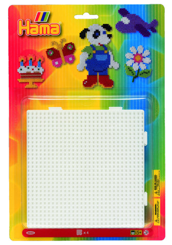 Large Square Pegboards for Hama Beads|Larges plaques carrées pour perles Hama