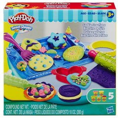 Play-Doh Cookie Creations|Ensemble de pâte à modeler Play-Doh biscuits en fête