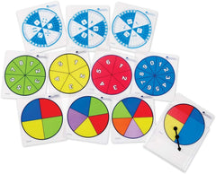 Write and Wipe Probability Spinners|Girouettes effaçables à sec