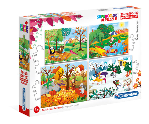 4 in 1 Puzzle : 4 seasons|Casse-tête 4 en 1 : 4 saisons