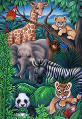 Puzzle 35 pieces - Animal Kingdom|Casse-tête 35 pièces - Royaume animal