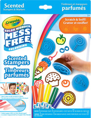 Color Wonder Scented Stampers And Markers Kit|Timbreurs et marqueurs parfumés