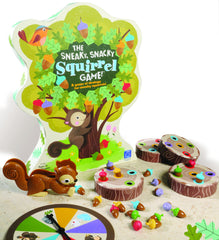 The Sneaky, Snacky Squirrel game|Jeu Sneaky, Snacky Squirrel