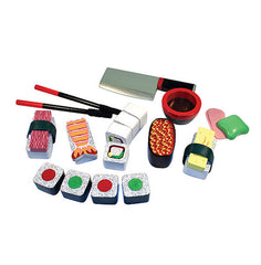 Sushi Slicing Play Set|Jeu de sushis à trancher en bois