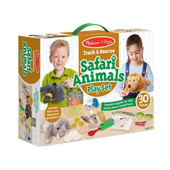 Track & Rescue Safari Animals Play Set|Trousse de secours pour animaux du safari