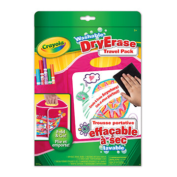 Washable Dry-Erase Travel Pack|Trousse portative effaçable à sec lavable