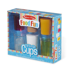 Food Fun Fill 'Em Up Cups|Ensemble de verres et breuvages