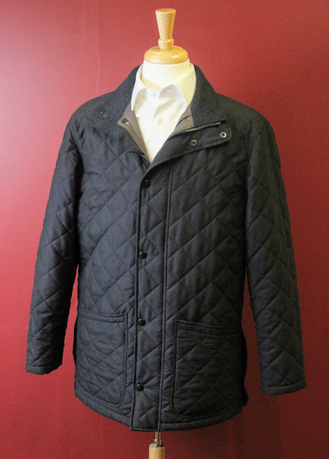 Scott Barber Quilted Coat