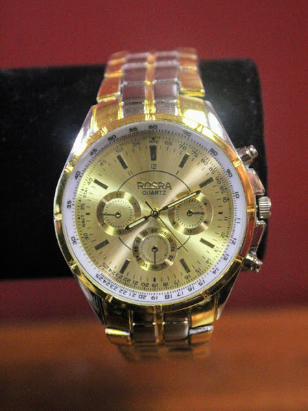 Brass faced Rosra Watch