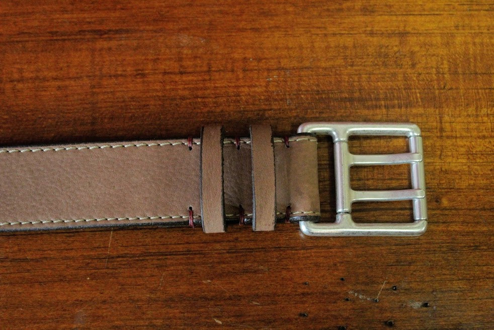 Torino Double Tounge Leather Belt