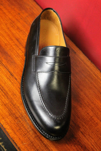 Black Loafer Armin Oehler Shoes