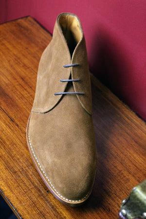 Pecan Suede Armin Oehler Shoes