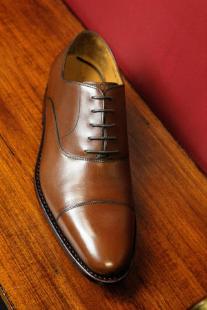 Brown CapToe Armin Oehler Shoes