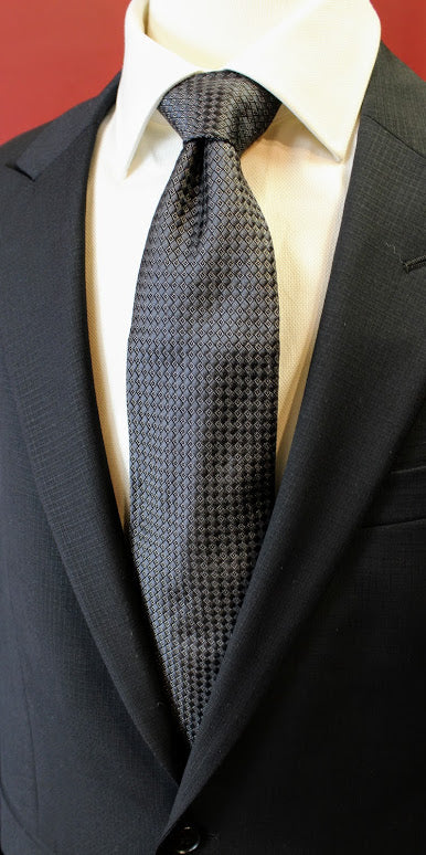 Black Diamond Pattern Daniel Cremieux Tie