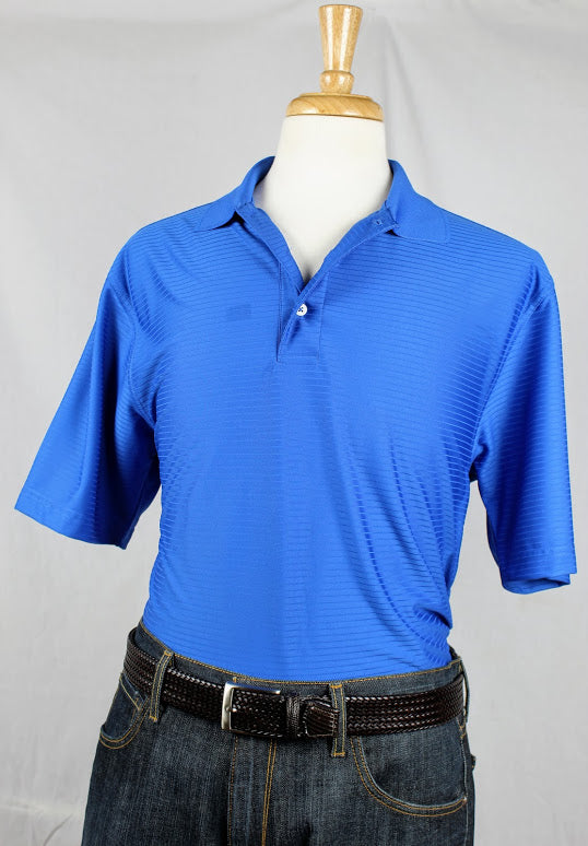 Bullington Blue Golf Shirt