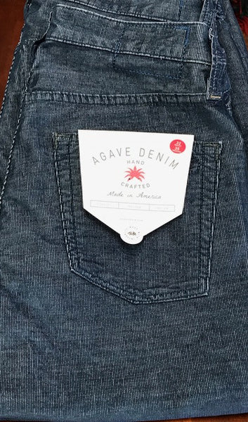 Agave Denim medium blue corduroy pants