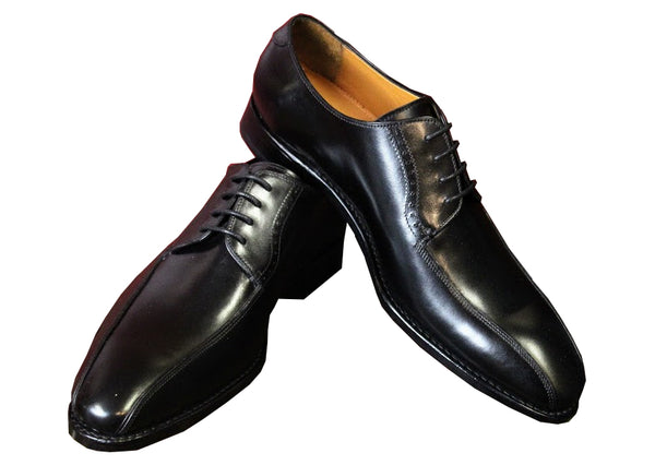 Black Calf Leather Armin Oehler Shoes