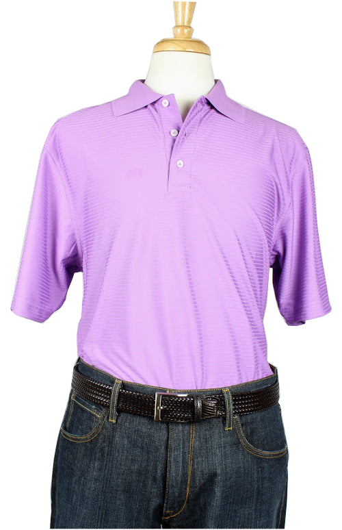 Bullington Lilac Golf Shirt