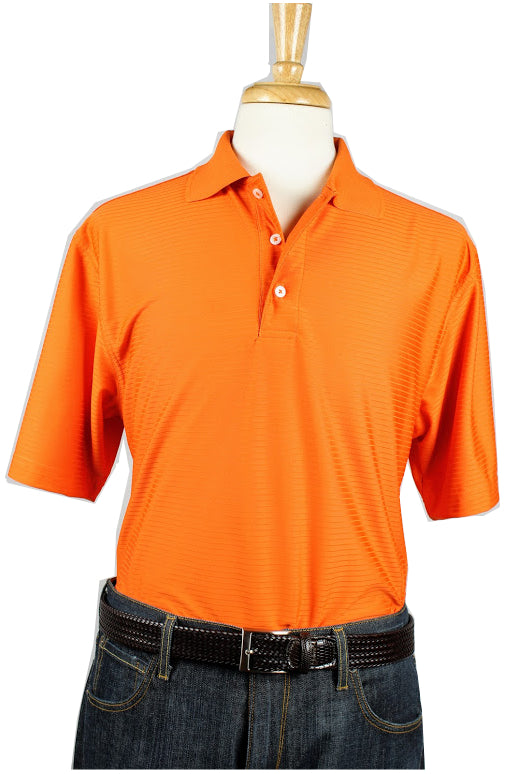Bullington Orange Golf Shirt