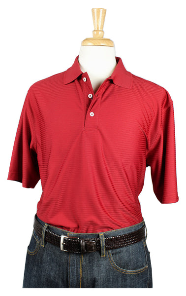 Bullington Red Golf Shirt