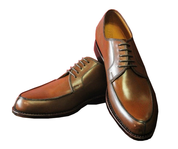 Brown Calf Leather Armin Oehler Shoes