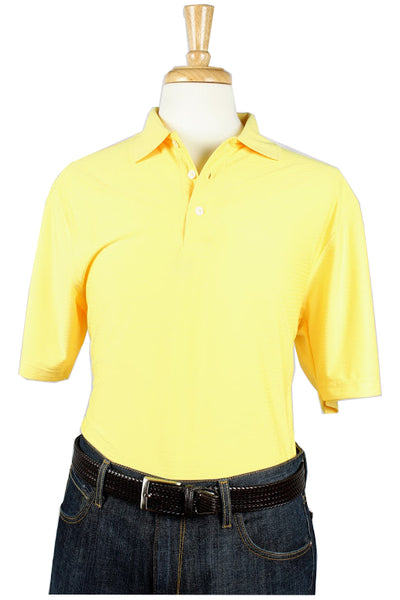 Bullington Yellow Golf Shirt