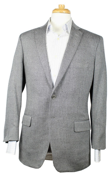 Individualized Herringbone Sport Coat
