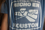 Hecho En Houston Shirt Blue