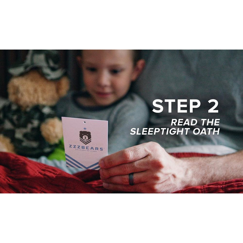 Teddy Bear - Sgt. Sleeptight - Pink Camouflage PJs With Sleep System And Storybook