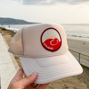 Sunset on the Esplanade Trucker Hat