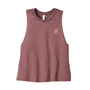 Spread Peace Women's Crop Tank