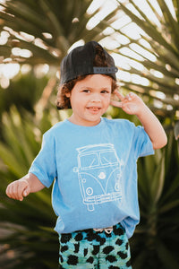Beach Bus Toddler Tee *More Colors*